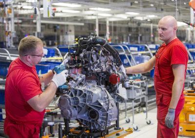 Volkswagen fabryka Września