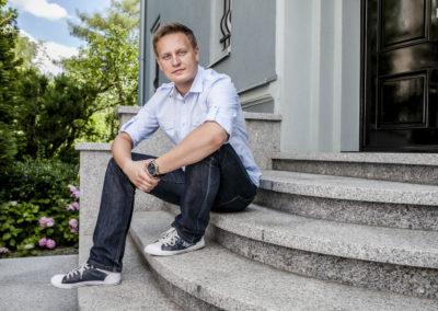 Michal Bialek z portalu Wykop.plfoto Wojciech RobakowskiPoznań 09.07.2012
