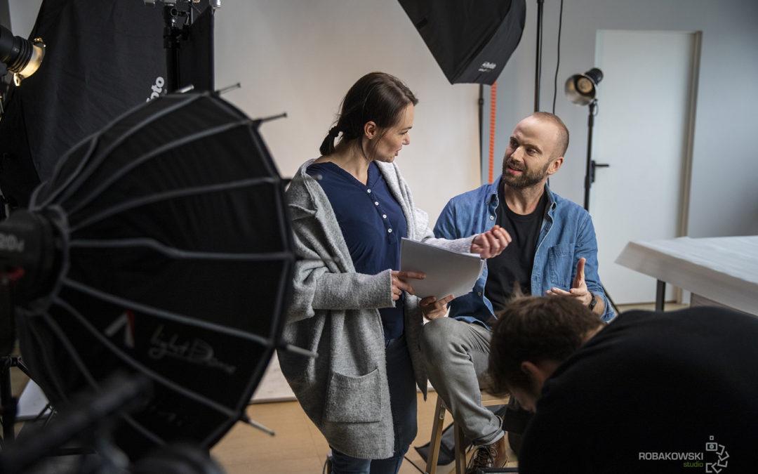 Agmamito sesja zdjęciowa team i architekt.