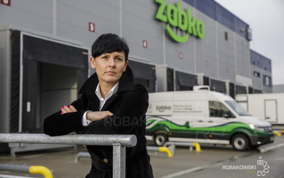 Sesja biznesowa dyrektor logistyki w Żabka Polska.