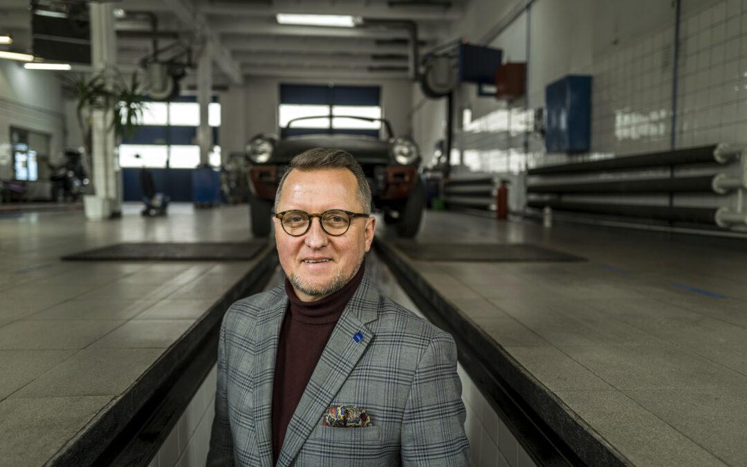Sesja wizerunkowa Sławomir Gach- ELSTEL Poland.