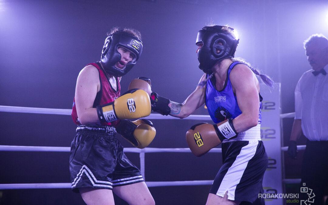 Fotografia podczas Gali Biznes Boxing 2021.